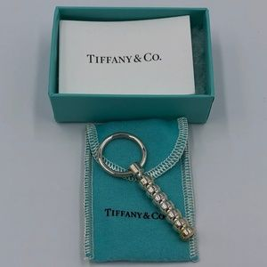 Tiffany Sterling Silver Paloma Keyring w/ Whistle